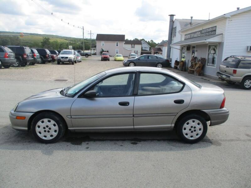 1998 Plymouth Neon for sale at ROUTE 119 AUTO SALES & SVC in Homer City PA
