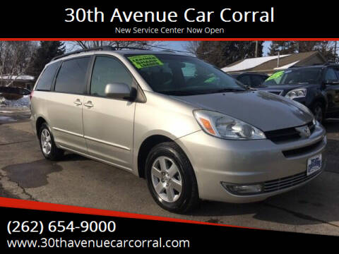 2004 Toyota Sienna for sale at 30th Avenue Car Corral in Kenosha WI
