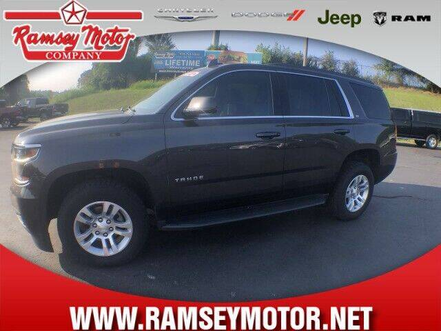 2018 Chevrolet Tahoe for sale at RAMSEY MOTOR CO in Harrison AR