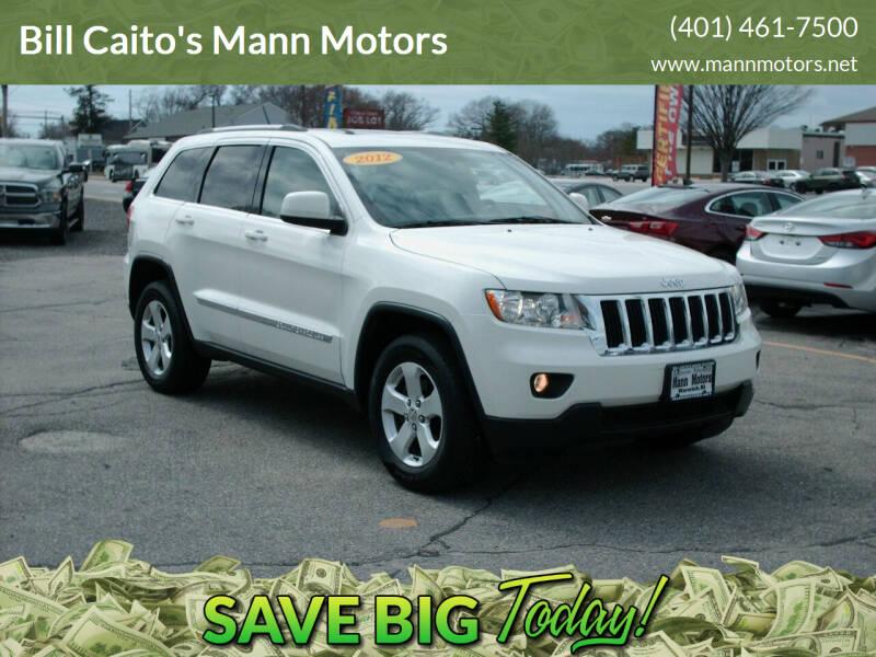 2012 Jeep Grand Cherokee for sale at Bill Caito's Mann Motors in Warwick RI