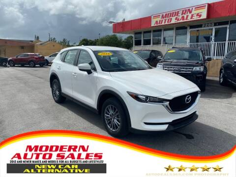 2018 Mazda CX-5 for sale at Modern Auto Sales in Hollywood FL