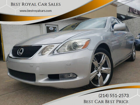 2006 Lexus GS 430 for sale at Best Royal Car Sales in Dallas TX