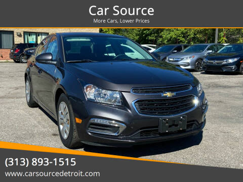 2016 Chevrolet Cruze Limited for sale at Car Source in Detroit MI