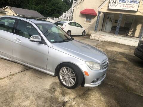2009 Mercedes-Benz C-Class for sale at Moore's Motors in Durham NC