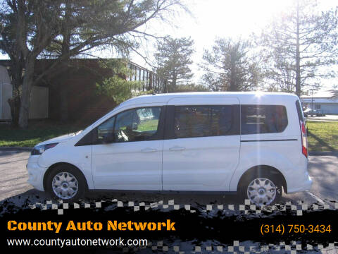 2015 Ford Transit Connect Wagon for sale at County Auto Network in Ballwin MO