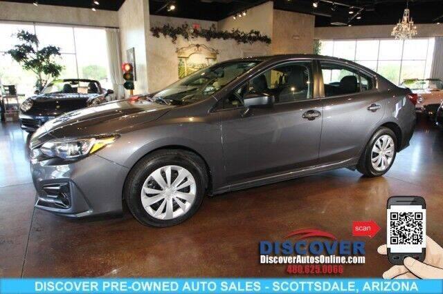 2019 Subaru Impreza for sale at Discover Pre-Owned Auto Sales in Scottsdale AZ