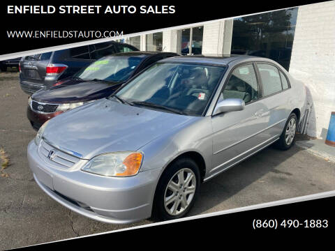 2003 Honda Civic for sale at ENFIELD STREET AUTO SALES in Enfield CT