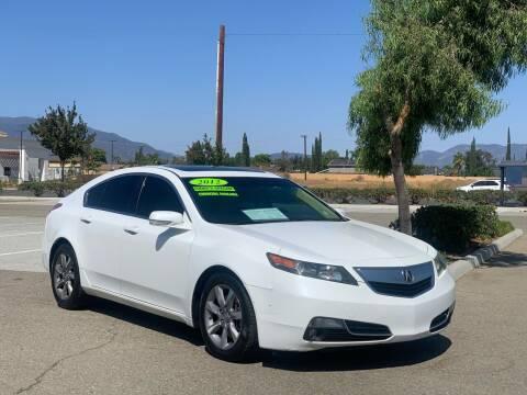 2012 Acura TL for sale at Esquivel Auto Depot in Rialto CA