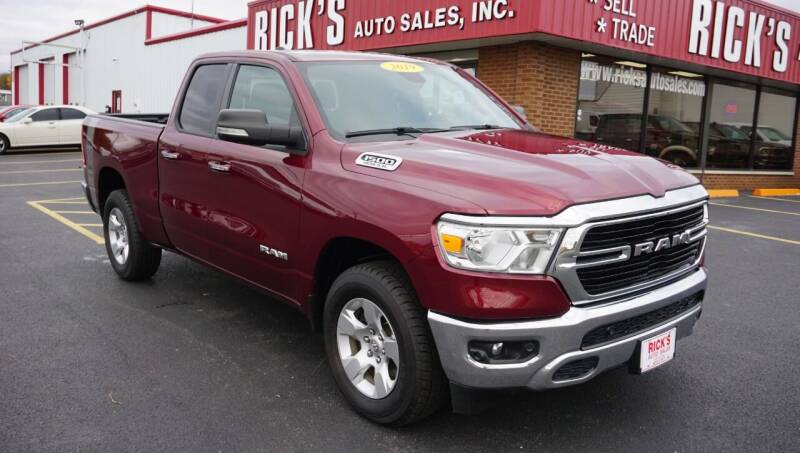 2019 RAM Ram Pickup 1500 for sale at Ricks Auto Sales, Inc. in Kenton OH