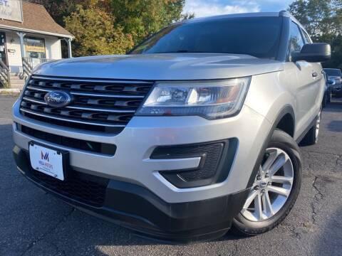 2016 Ford Explorer for sale at Mega Motors in West Bridgewater MA