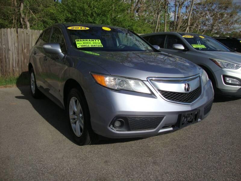 2013 Acura RDX for sale at Easy Ride Auto Sales Inc in Chester VA