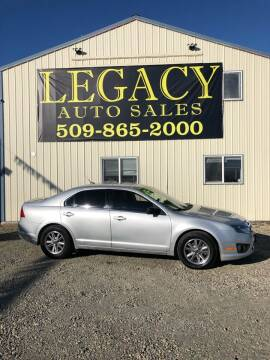 2011 Ford Fusion for sale at Legacy Auto Sales in Toppenish WA