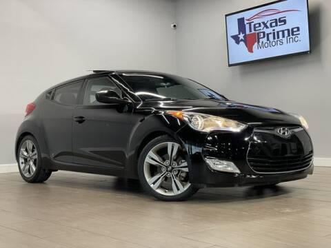 2015 Hyundai Veloster for sale at Texas Prime Motors in Houston TX