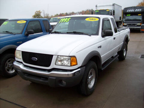 2001 Ford Ranger for sale at Summit Auto Inc in Waterford PA