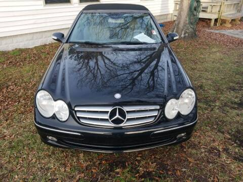 2005 Mercedes-Benz CLK for sale at Webb's Automotive Inc 11 in Morehead City NC
