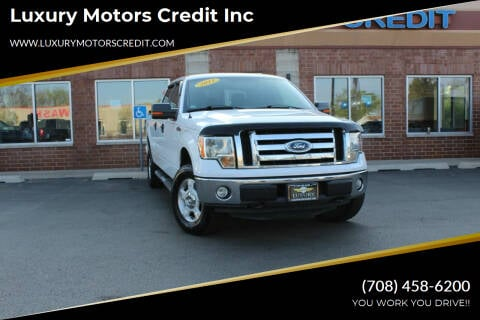2011 Ford F-150 for sale at Luxury Motors Credit Inc in Bridgeview IL