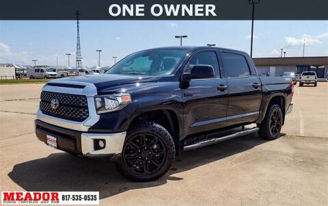 2020 Toyota Tundra for sale at Meador Dodge Chrysler Jeep RAM in Fort Worth TX