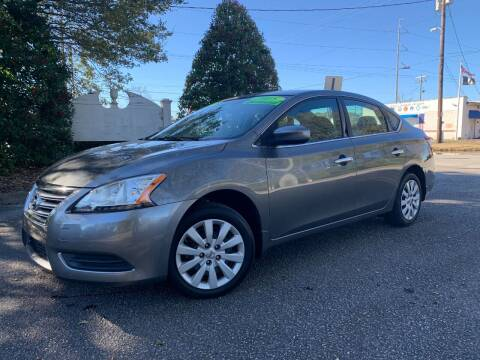 2015 Nissan Sentra for sale at Seaport Auto Sales in Wilmington NC
