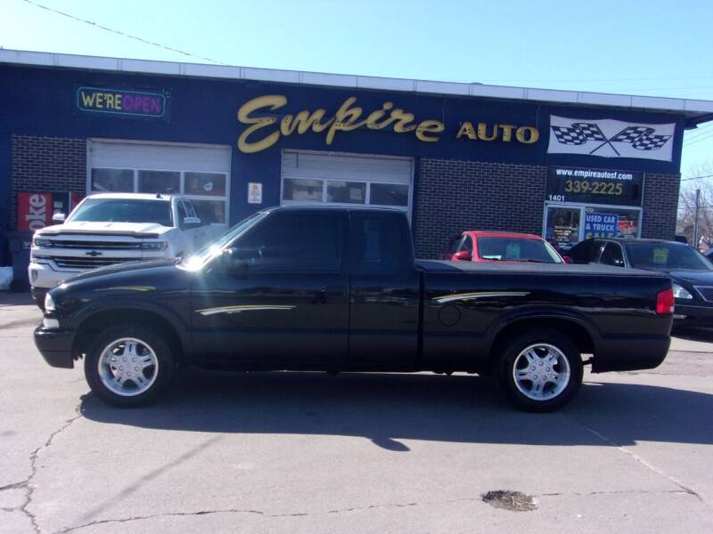2003 Chevrolet S-10 for sale at Empire Auto Sales in Sioux Falls SD