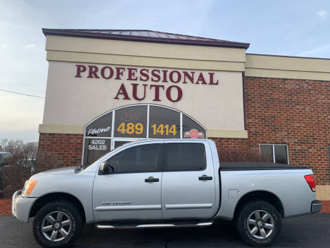 2012 Nissan Titan for sale at Professional Auto Sales & Service in Fort Wayne IN