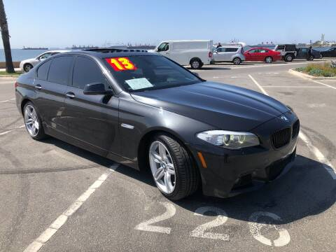 2013 BMW 5 Series for sale at The Lot Auto Sales in Long Beach CA
