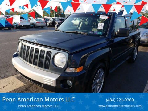 2007 Jeep Patriot for sale at Penn American Motors LLC in Allentown PA