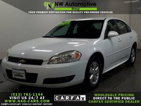 2010 Chevrolet Impala for sale at NW Automotive Group in Cincinnati OH