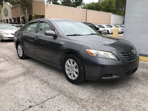 2007 Toyota Camry Hybrid for sale at Popular Imports Auto Sales in Gainesville FL