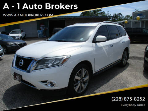 2014 Nissan Pathfinder for sale at A - 1 Auto Brokers in Ocean Springs MS