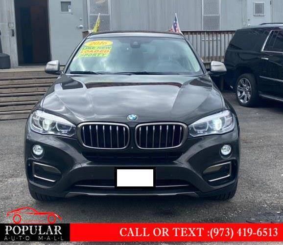 2016 BMW X6 for sale at Popular Auto Mall Inc in Newark NJ