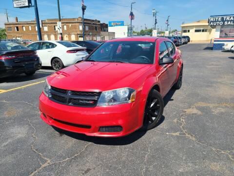 2014 Dodge Avenger for sale at Rite Track Auto Sales in Detroit MI