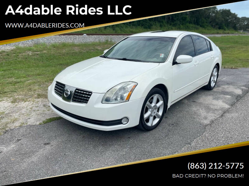 2006 Nissan Maxima for sale at A4dable Rides LLC in Haines City FL