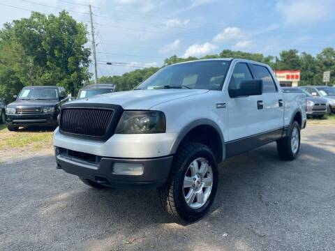 2005 Ford F-150 for sale at Atlantic Auto Sales in Garner NC
