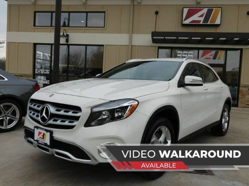 2018 Mercedes-Benz GLA for sale at Auto Assets in Powell OH