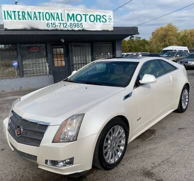 2011 Cadillac CTS for sale at International Motors Inc. in Nashville TN