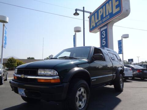 2002 Chevrolet S-10 for sale at Alpine Auto Sales in Salt Lake City UT