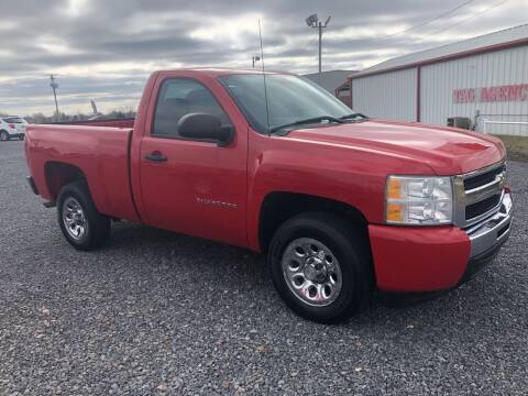 2011 Chevrolet Silverado 1500 for sale at RAYMOND TAYLOR AUTO SALES in Fort Gibson OK