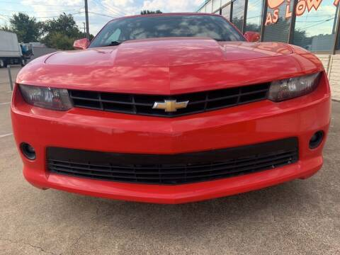 2015 Chevrolet Camaro for sale at Car Now in Dallas TX