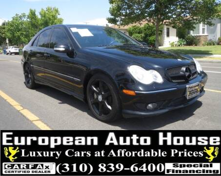 2007 Mercedes-Benz C-Class for sale at European Auto House in Los Angeles CA