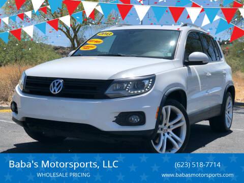 2013 Volkswagen Tiguan for sale at Baba's Motorsports, LLC in Phoenix AZ