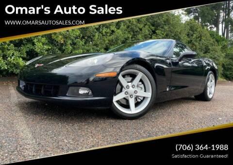 2005 Chevrolet Corvette for sale at Omar's Auto Sales in Martinez GA