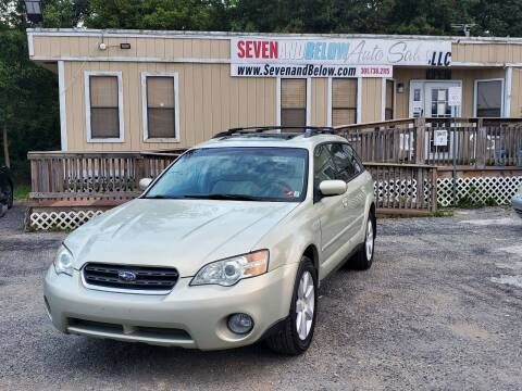 2007 Subaru Outback for sale at Seven and Below Auto Sales, LLC in Rockville MD