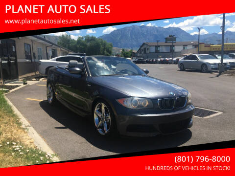 2008 BMW 1 Series for sale at PLANET AUTO SALES in Lindon UT
