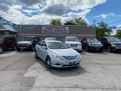 2011 Hyundai Sonata for sale at Brothers Auto Group in Youngstown OH