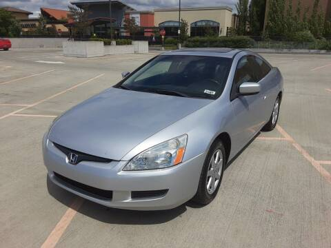 2003 Honda Accord for sale at METROPOLITAN MOTORS in Kirkland WA