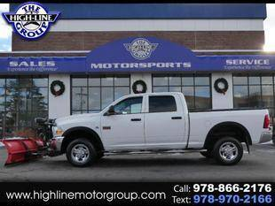 2012 RAM Ram Pickup 2500 for sale at Highline Group Motorsports in Lowell MA