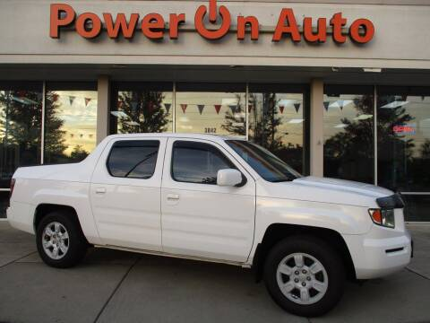 2006 Honda Ridgeline for sale at Power On Auto LLC in Monroe NC