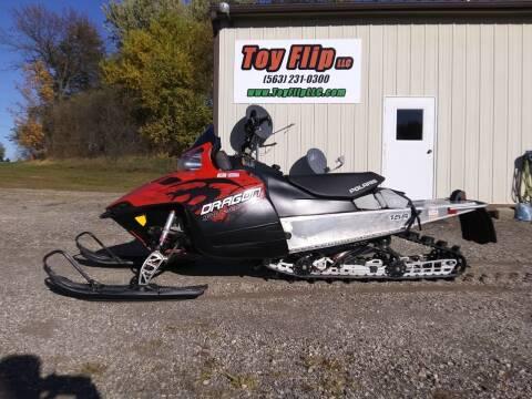 2010 Polaris 800 Dragon RMK 155 for sale at Toy Flip LLC in Cascade IA
