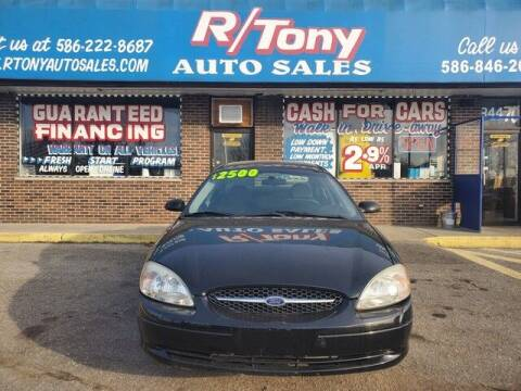 2003 Ford Taurus for sale at R Tony Auto Sales in Clinton Township MI
