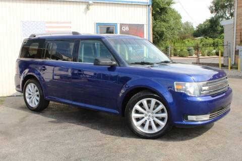 2014 Ford Flex for sale at Dynamics Auto Sale in Highland IN